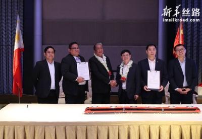 中国动车组列车首次获签菲律宾订单
