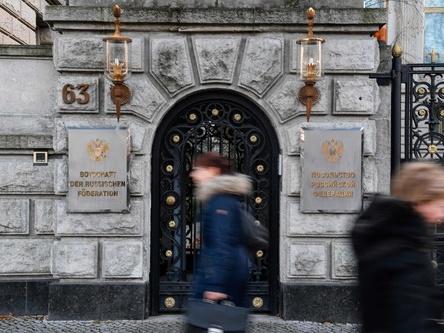 俄将采取措施回应德国驱逐俄使馆工作人员