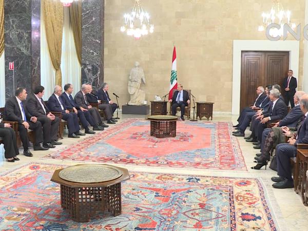黎巴嫩总统奥恩任命迪亚卜为新总理
