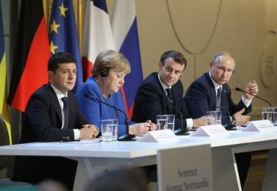 """""""诺曼底模式""""峰会在巴黎举行 强调全面落实明斯克停火协议"""