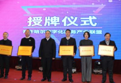 """齐齐哈尔成立""""数字化服务产业联盟"""" 助推""""数字鹤城""""跨界融合"""