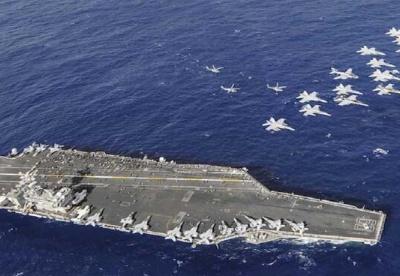 美国与中国在东亚的海军平衡