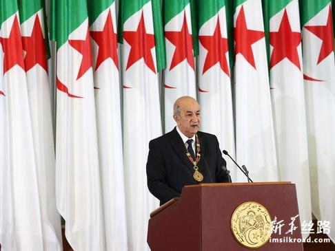 阿尔及利亚新总统特本宣誓就职
