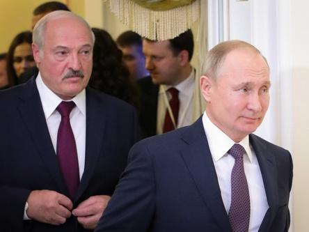普京呼吁继续推动俄白一体化进程