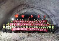 京沈高铁全线隧道贯通 通车后北京至沈阳只要2.5小时