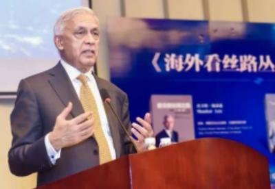 """巴基斯坦前总理:""""一带一路""""倡议是为全球共同发展"""