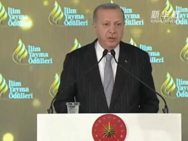 土耳其总统说土不会独自接纳更多叙利亚难民