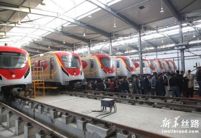中巴经济走廊拉合尔轨道交通橙线项目建设完成
