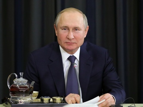 普京和德企业家交流俄德经贸合作前景