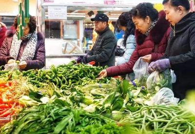 青海西宁:平价蔬菜供应两节市场
