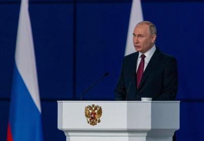 普京发表国情咨文鼓励投资和科研