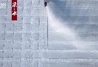 """""""国缘V9""""企业文化冰雕闪耀第三十六届中国·哈尔滨国际冰雪节"""