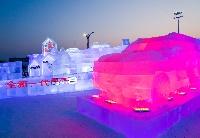 奇瑞汽车亮相哈尔滨冰雪大世界新华社民族品牌工程主题园