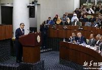阿尔及利亚总理向议会提交施政报告