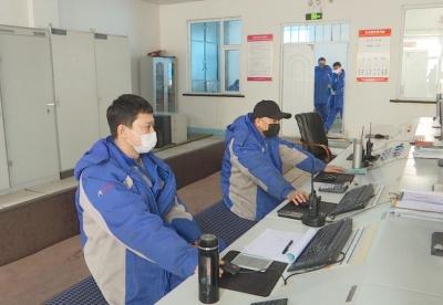 吉林省乾安县安字镇清洁能源产业园区 实现疫情防控和生产两不误