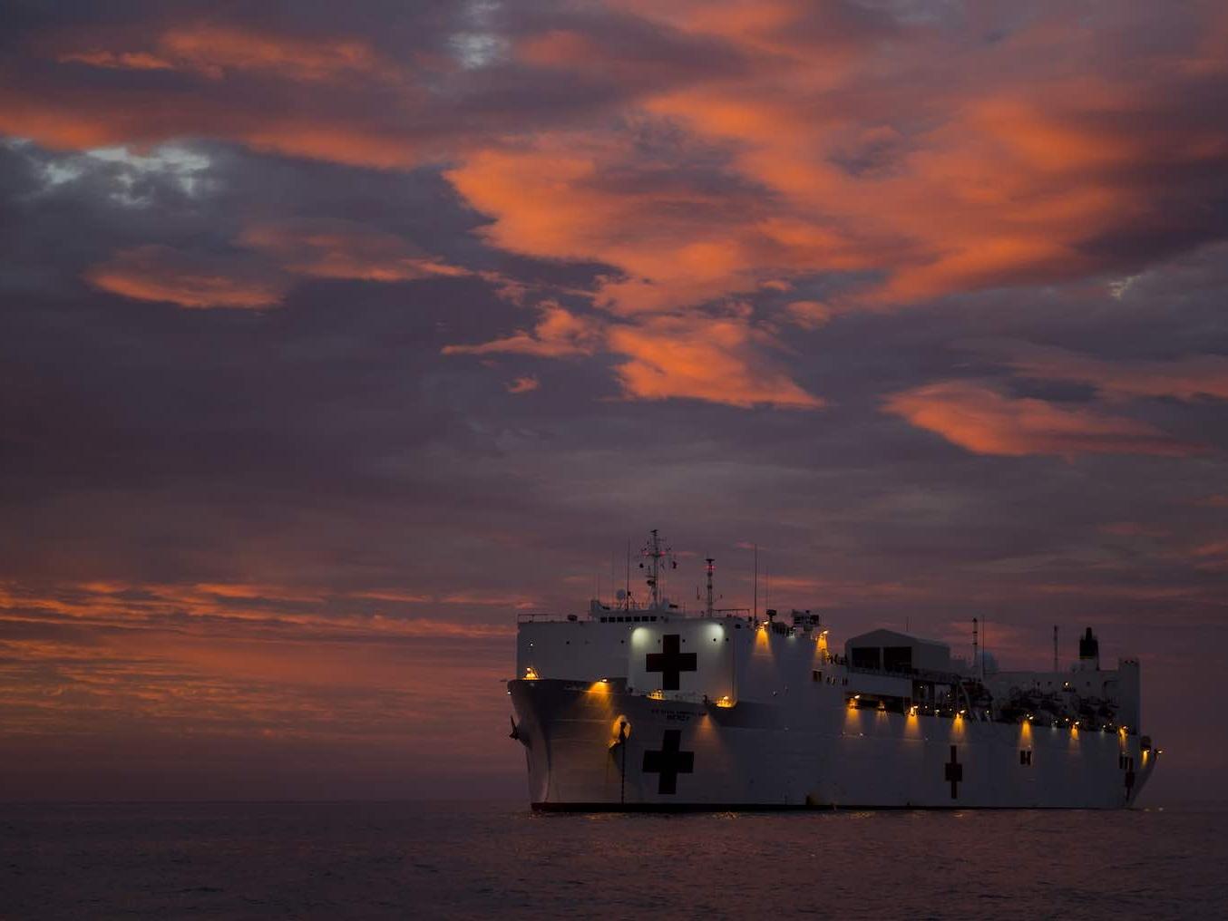 """""""钻石公主号""""的启示:日本应建造和使用医疗船"""