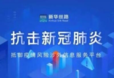 新华丝路涉外信息矩阵入驻国家政务服务平台