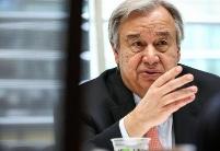 """联合国秘书长:通过""""两国方案""""解决巴以冲突的立场从未改变"""