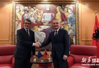 欧洲议会议长表示支持开启阿尔巴尼亚入盟谈判