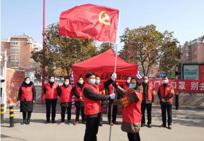 安徽泗县驻村扶贫工作队奋战疫情防控第一线