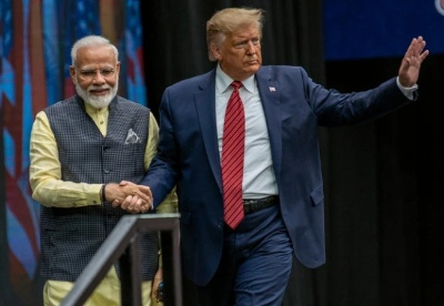"""印度近半数公众对特朗普的贸易政策""""不感冒"""""""