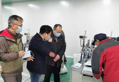 安徽阜阳市经开区:统筹疫情防控和园区融合发展