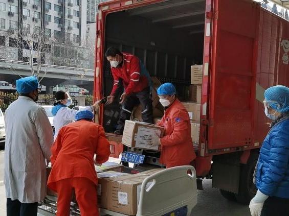 """保民生促复工,北京电商企业科技战""""疫"""""""
