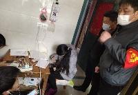 """安徽无为:文明实践""""志愿红"""" 助力""""疫""""线扶贫"""