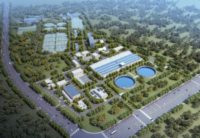 安徽巢湖岗岭污水处理厂三期扩建工程正式开建