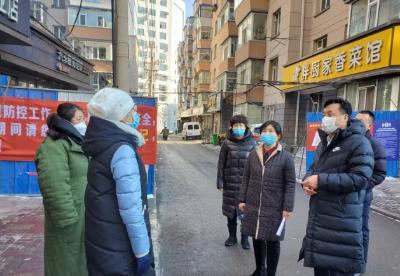长春市南关区委书记谢志敏走访慰问女社区工作者和巾帼志愿者