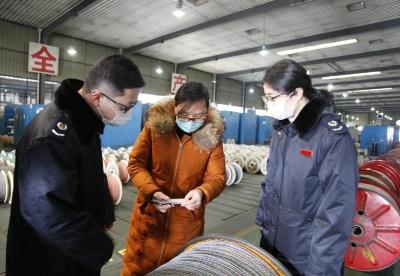 """安徽天长:税务力量护航复工""""战疫"""""""