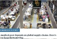 确保全球医疗供应链运转的方法