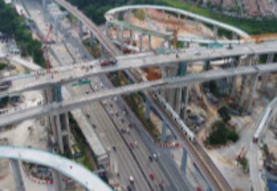 重庆造马来西亚在建最高连续刚构桥施工完成
