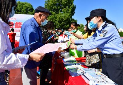 安徽巢湖:防灾减灾日倡导防灾减灾新理念
