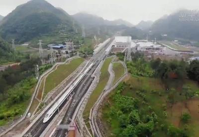 新建安顺至六盘水铁路进入运行试验阶段