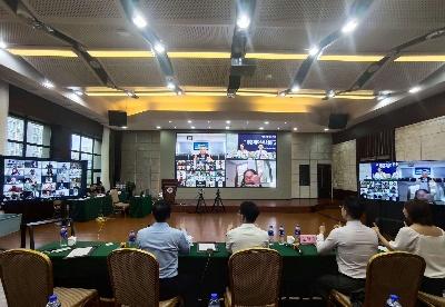 """十六国政商学界精英齐聚云上 共话""""数字丝路""""国际合作新机遇"""