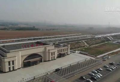 """喀赤高铁进行开通运营前最后""""热身""""试跑"""