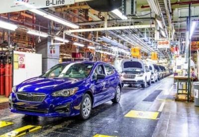 日本8家车企5月全球产量锐减6成