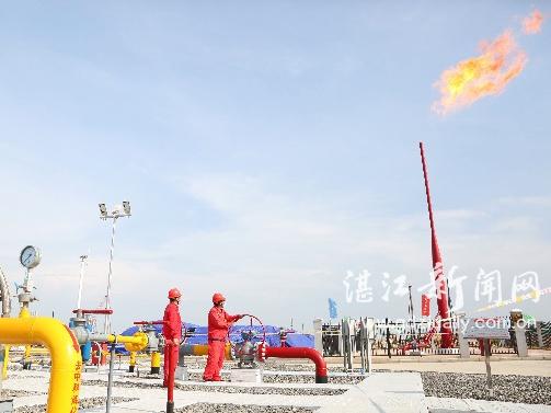 东海岛输气站正式向中科炼化供气  年设计输量6.5亿立方