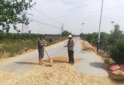 淮北烈山区:一组一会助力夏收农忙
