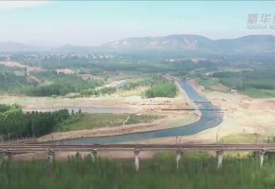 中俄东线天然气管道工程跨河北滦河段加紧建设