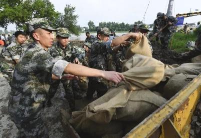 安徽滁州南谯区:初心不改护大堤