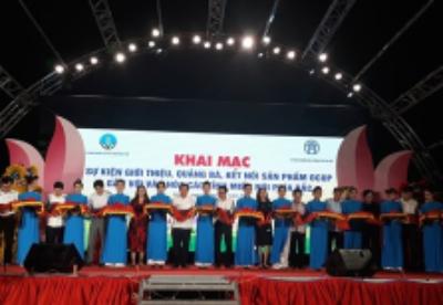 """""""一乡一品""""(OCOP)产品推广活动在越南河内举行"""