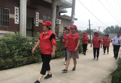 """安徽和县:防汛一线的""""红色力量"""""""