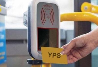仰光公交YBS将使用YPS刷卡系统