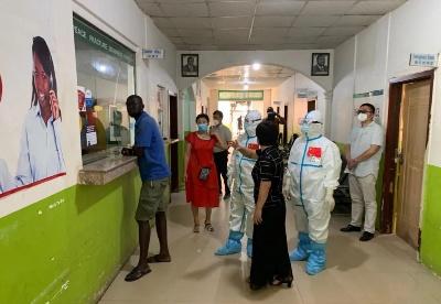 中国医疗专家组指导在南苏丹中国企业和同胞防疫工作