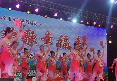 """""""夏之风""""芜湖市农民广场舞展演活动燃情上演"""
