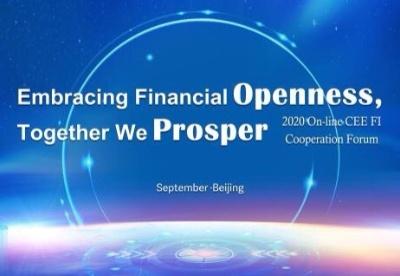刘波公参出席2020年中东欧金融机构论坛