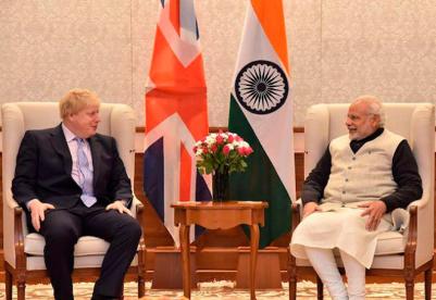 """印度在""""全球英国""""愿景中占有一席之地"""