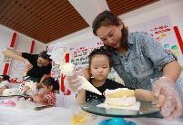 """安徽淮北相山区:儿童之家满""""乐趣"""""""